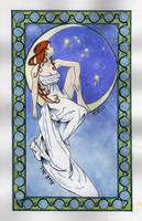 The Moon by calmllama