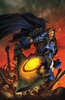 warcraft:Ashbringer 1 Cover by Tonywashingtonart