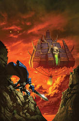 warcraft:Ashbringer 3 Cover by Tonywashingtonart