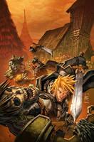 warcraft:Ashbringer 4 Cover by Tonywashingtonart