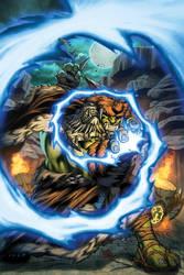 World of Warcraft Horde Poster by Tonywashingtonart