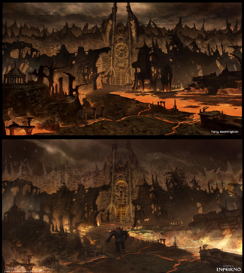 Dantes Inferno 2 By Tonywashingtonart On Deviantart