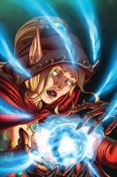 world of Warcraft 19 cover by Tonywashingtonart