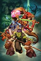 World of Warcraft 23 cover by Tonywashingtonart