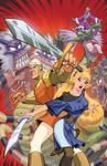 Dragon's Lair Cover 1 by Tonywashingtonart