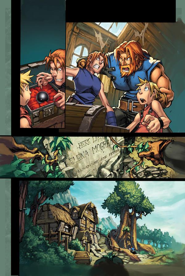WoW Ashbringer 1 pg 8 by Tonywash