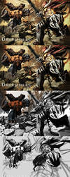The End:Darksiders walkthrough by Tonywashingtonart