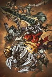 Darksiders Cover by Tonywashingtonart