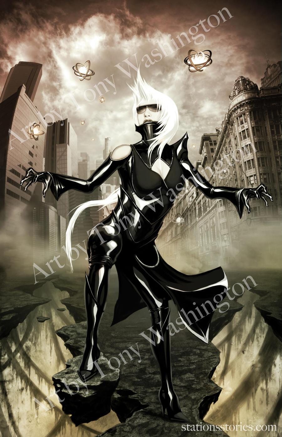 Lady Gaga 2 of 2 by Tonywash