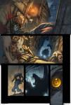 WoW Curse of the Worgen pg 2 by Tonywashingtonart