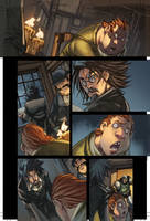 WoW Curse of the Worgen pg 3 by Tonywashingtonart