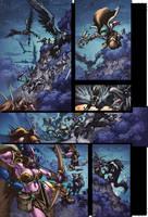 WoW Curse of the Worgen 2 pg11 by Tonywashingtonart