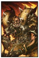World of Warcraft Garrosh by Tonywashingtonart