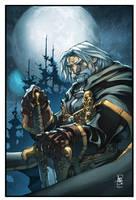 World of Warcraft GennGreymane by Tonywashingtonart