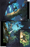 WoW Curse of the Worgen 3 pg01 by Tonywashingtonart