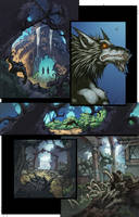 WoW Curse of the Worgen 3 pg02 by Tonywashingtonart