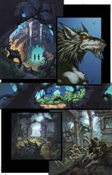 WoW Curse of the Worgen 3 pg02 by Tonywashingtonart