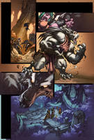 WoW Curse of the Worgen 3 pg22 by Tonywashingtonart