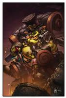 World of Warcraft Gallywix by Tonywashingtonart