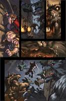 WoW Curse of the Worgen 4 pg08 by Tonywashingtonart