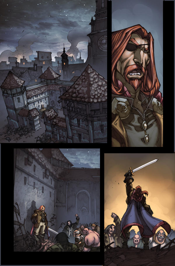 WoW Curse of the Worgen 4 pg11 by Tonywash