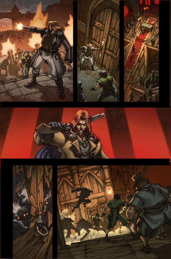 WoW Curse of the Worgen 4 pg24 by Tonywash