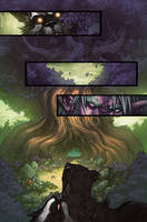 WoW Curse of the Worgen 5 pg18 by Tonywashingtonart
