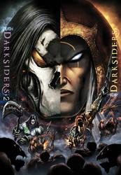 Darksiders Poster 2011 by Tonywashingtonart