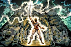 POWERCON/THUNDERCON 2012 He-Man Poster by Tonywashingtonart
