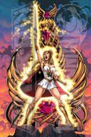 POWERCON/THUNDERCON 2012 She-Ra Poster by Tonywashingtonart