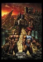Powercon/Thundercon 2012 Poster by Tonywashingtonart