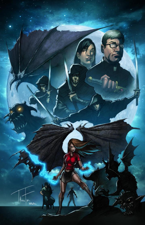 Dark Revelation 2 Back Cover by Tonywash