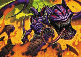 Draconic Worm Venom Drake by Tonywashingtonart