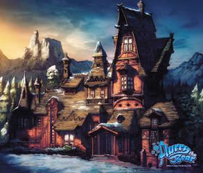 The Kringle House by Tonywashingtonart