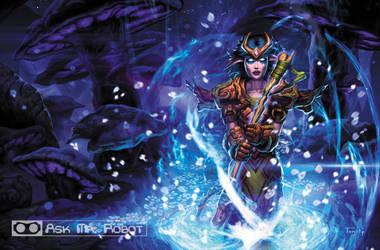 Druid (Ask Mr Robot) Background 2 of 11 by Tonywashingtonart