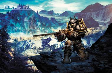 Hunter (Ask Mr Robot) Background 3 of 11 by Tonywashingtonart