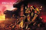 Paladin (Ask Mr Robot) Background 6 of 11 by Tonywashingtonart