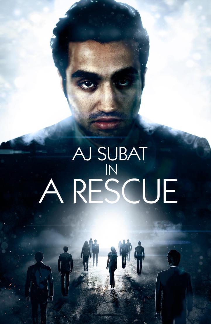 AJ Subat A Rescue Poster by Tonywash