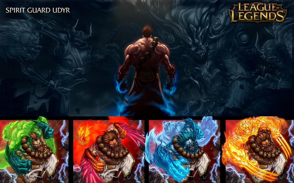 Spirit Guard Udyr - League Of Legends by Tonywash on ...