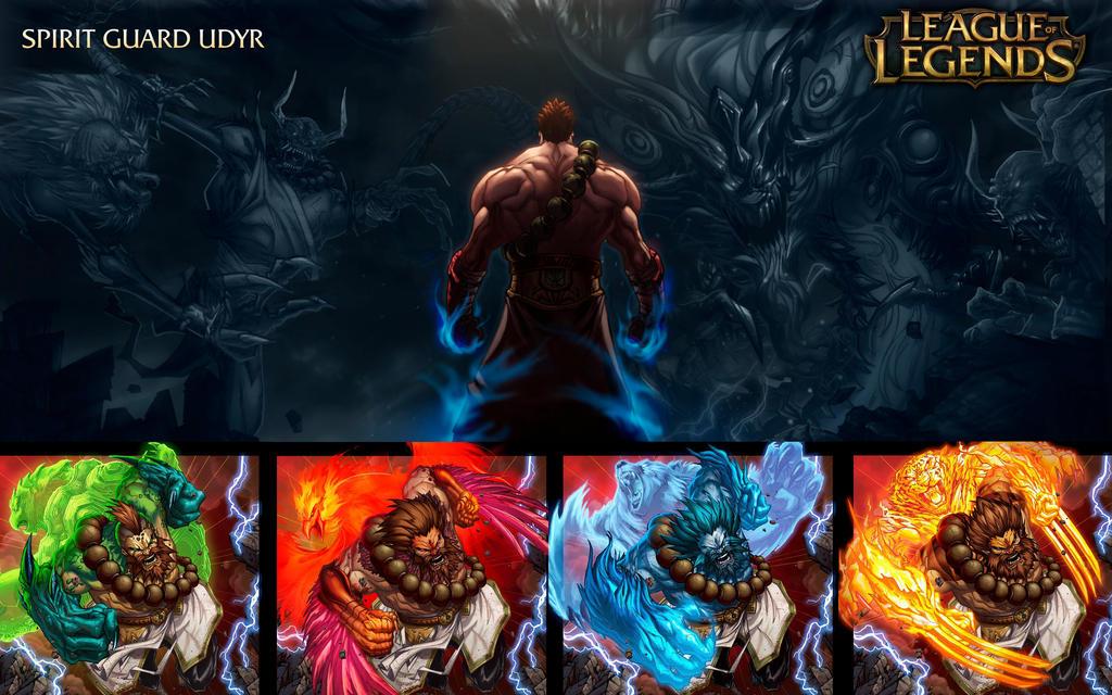 Spirit Guard Udyr - League Of Legends by Tonywash on ...