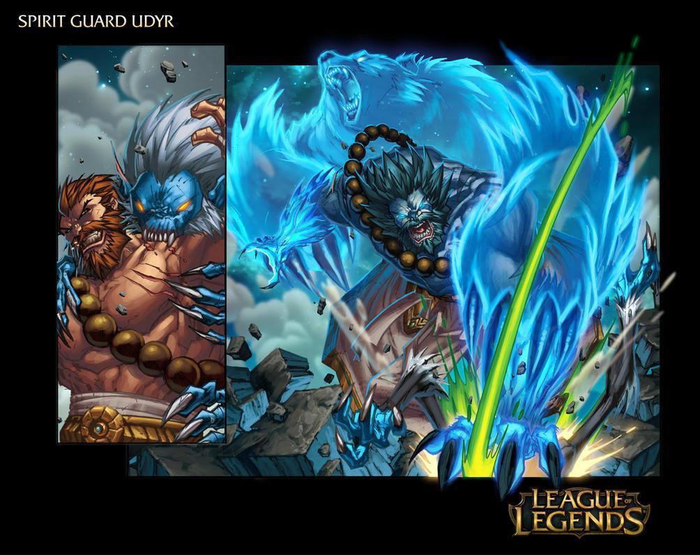 Spirit Guard Udyr - League Of Legends Page 7 by Tonywash ...
