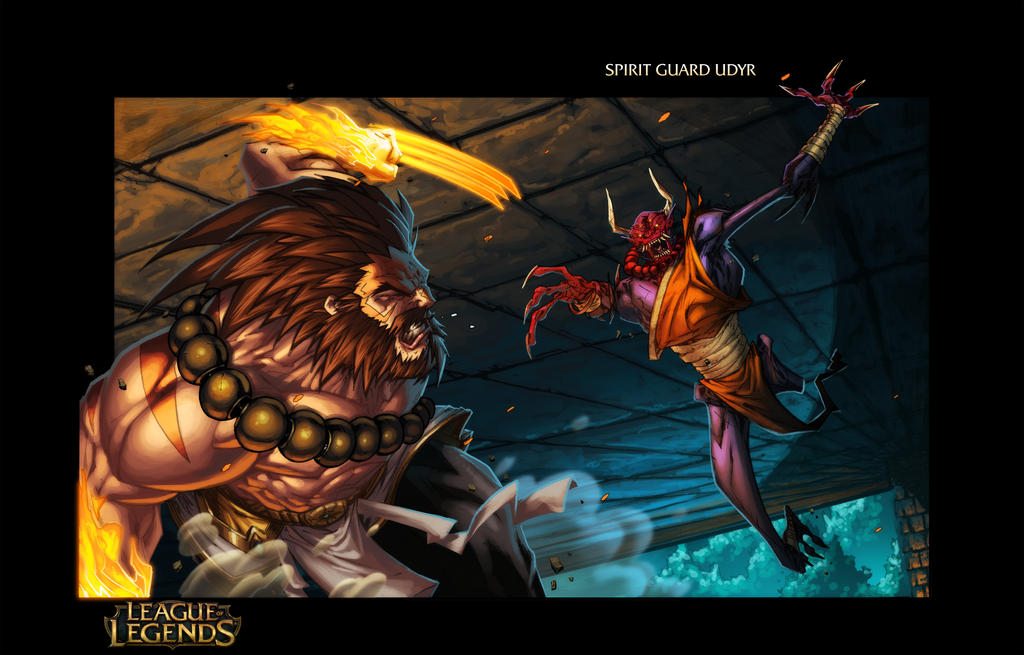 Spirit Guard Udyr - League Of Legends Page 3 by Tonywash ...