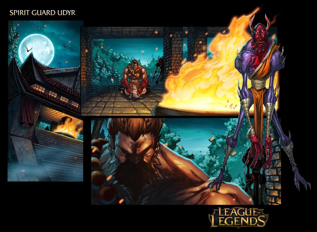 Spirit Guard Udyr - League Of Legends Page 1 by Tonywash ...