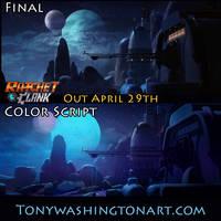 Ratchet and Clank Color Script 1 by Tonywashingtonart