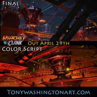 Ratchet and Clank Color Script 2 by Tonywashingtonart