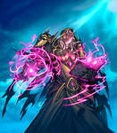 Hearthstone - Cult Sorcerer by Tonywashingtonart