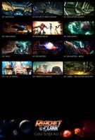 Ratchet and Clank Act 3 Color Script by Tonywashingtonart