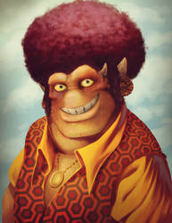 Brax Portrait - Ratchet and Clank CGI Paintover by Tonywashingtonart