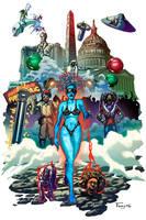 Parliament Funkadelic Art Show Poster by Tonywashingtonart