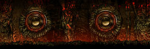 Magma Chamber VR - Hallway Concept Art by Tonywashingtonart